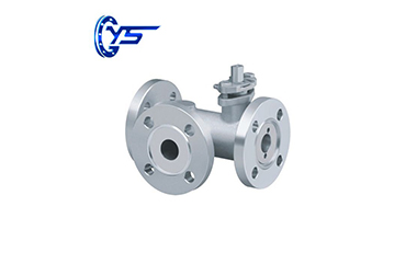 Three-Way Ball Valve Has T Type and l Type