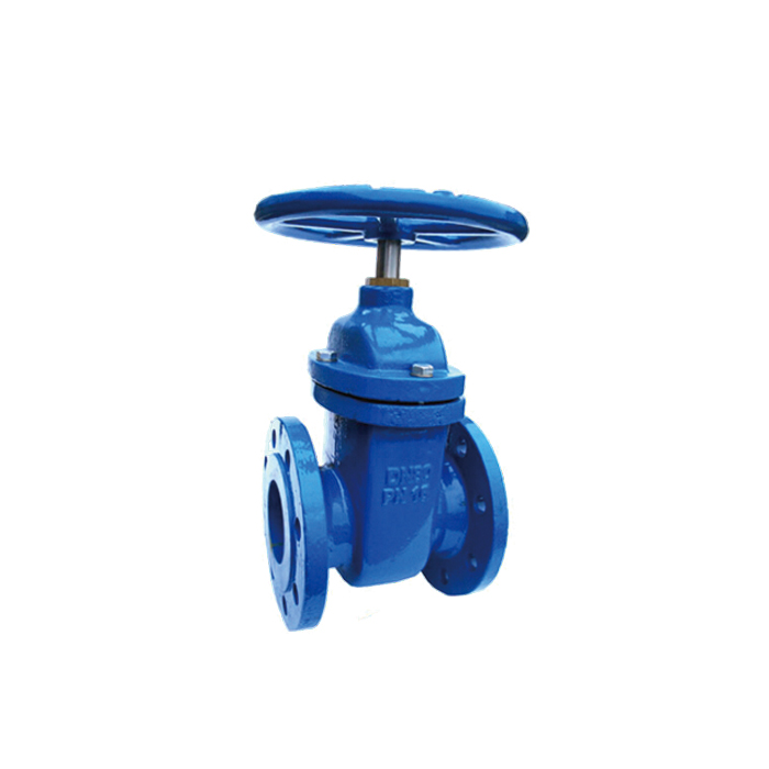 Ductile iron pipeline soft-sealing gate valve