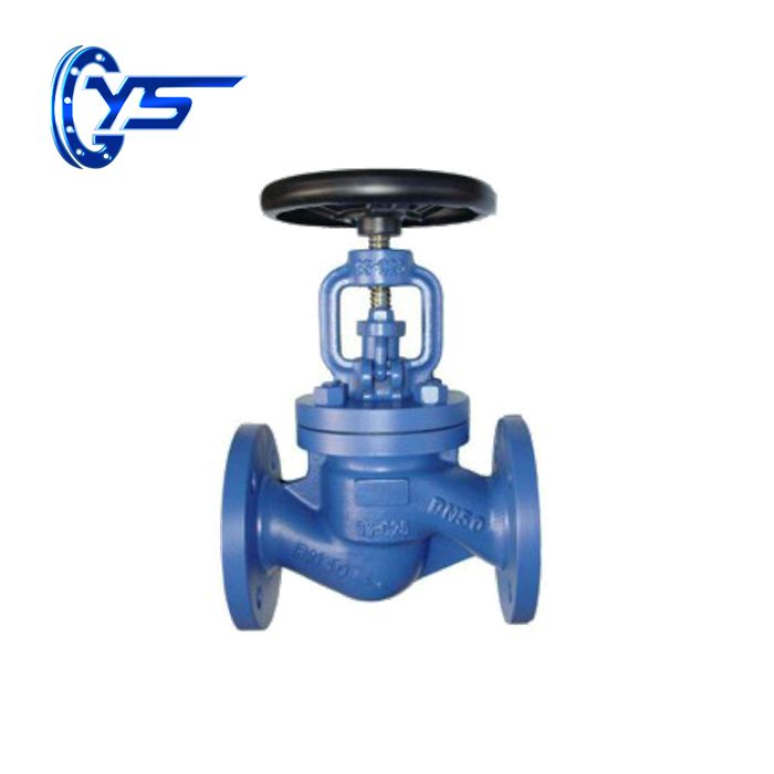 DIN grey iron pipeline nominal pressure globe valve