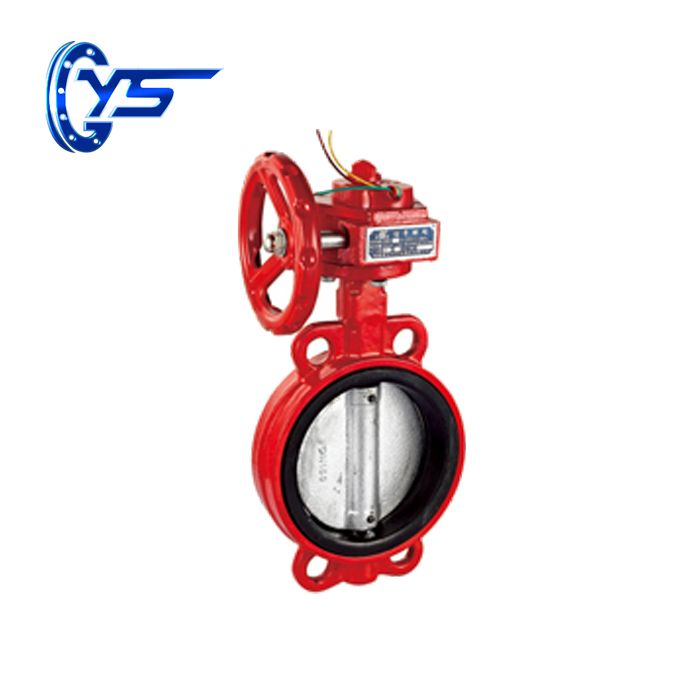 Ductile iron Fire fighting signal butterfly valve