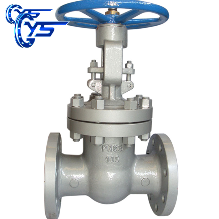 Gost gate valve LCB carbon steel for water flanged gate valve