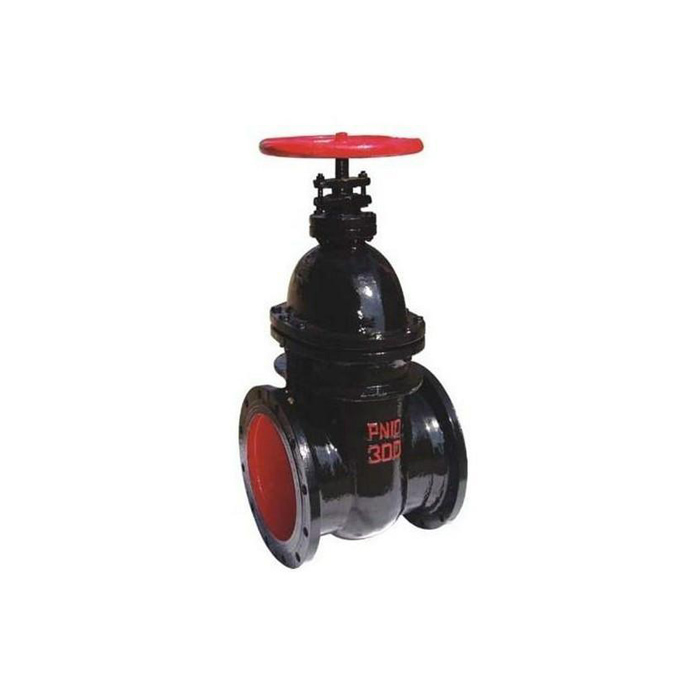 Z45T/W-10 Cast Iron Non-rising Stem Cuniform Gate Valve With Handle