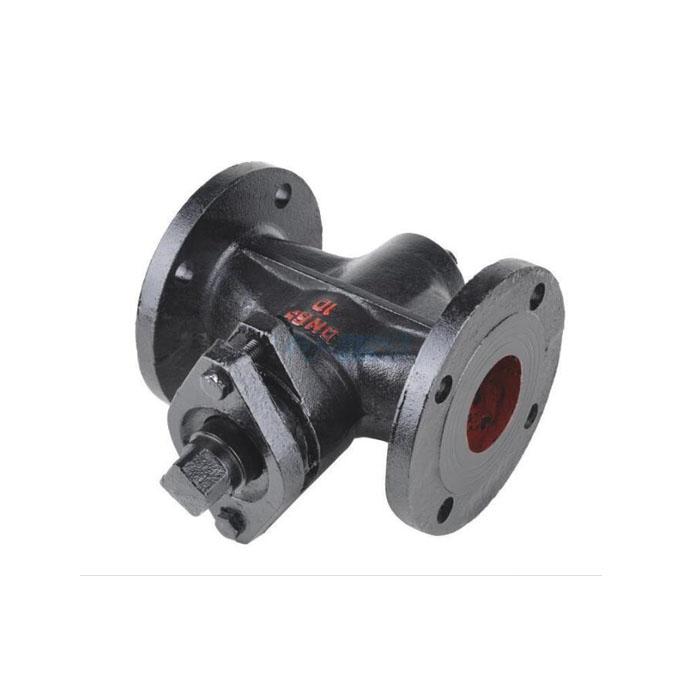 X43W/T-10 Cast Iron Flanged Plug Valve