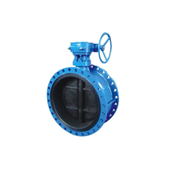 D341J-16 Rubber-lined Flange Butterfly Valve