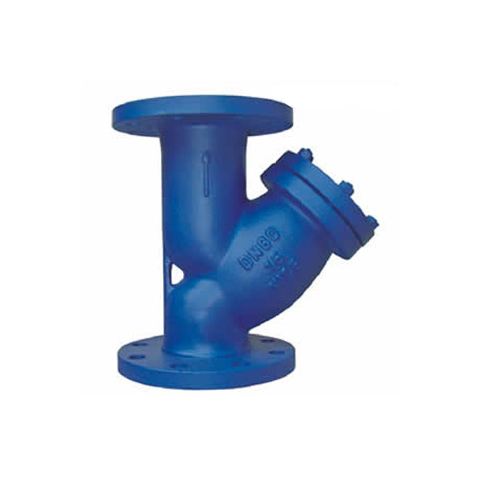 GL41H-16/16Q Ductile Iron Flange Y Type Strainer