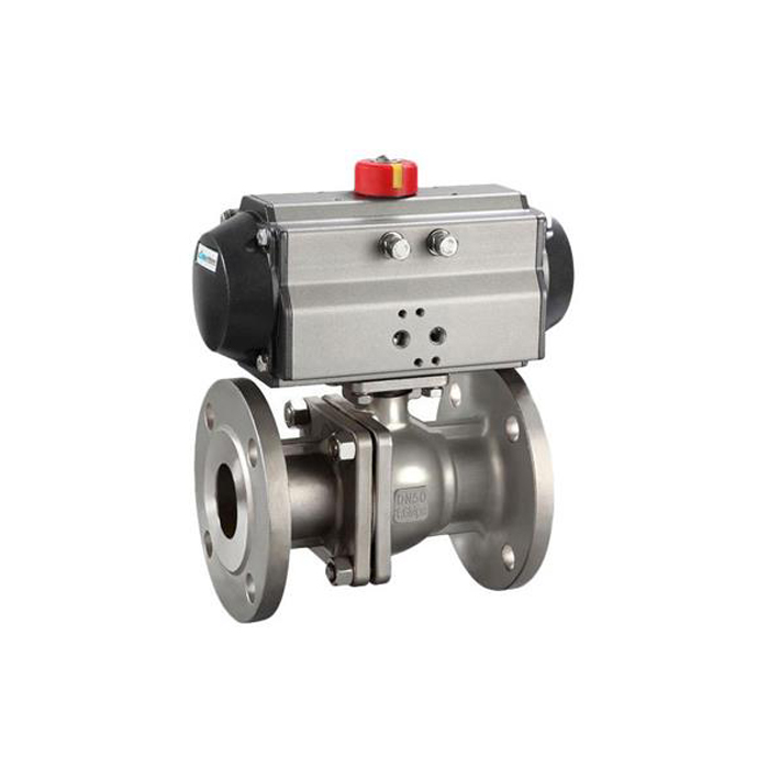 Q641F/H-16C/25 GB cast steel flange pneumatic ball valve