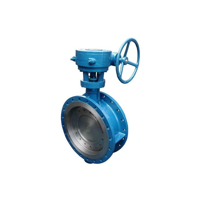 D343H-16C / 25/40 Cast steel triple eccentric metal hard seal butterfly valve