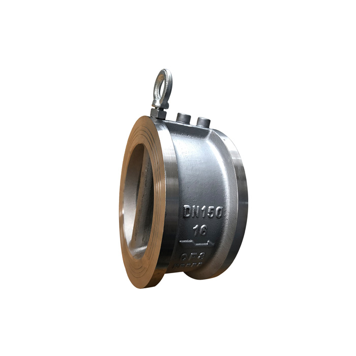H77X / W-10 / 16P stainless steel butterfly check valve