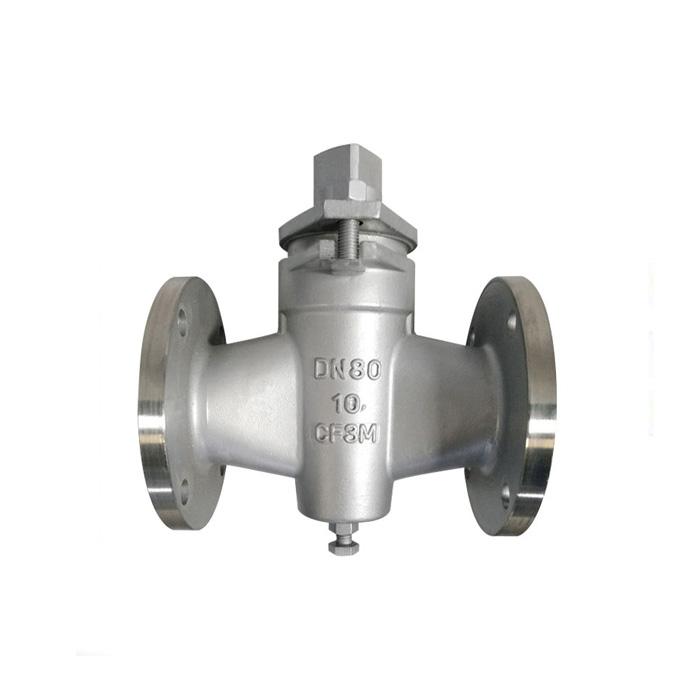 X43W-10P GB stainless steel plug valve