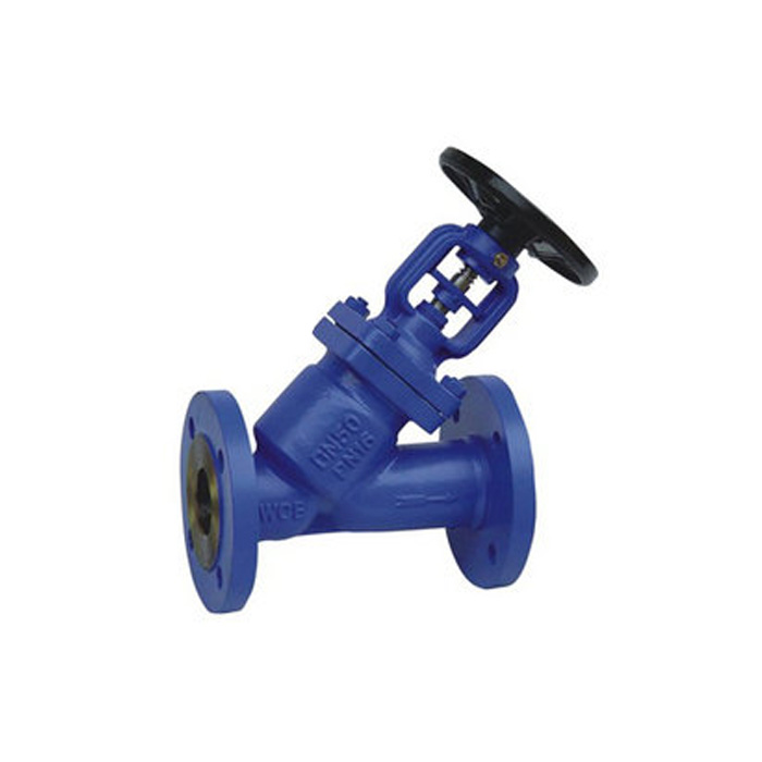 WJ44H-16/25/40/64 DIN Y-type Bellow Seal Globe Valve