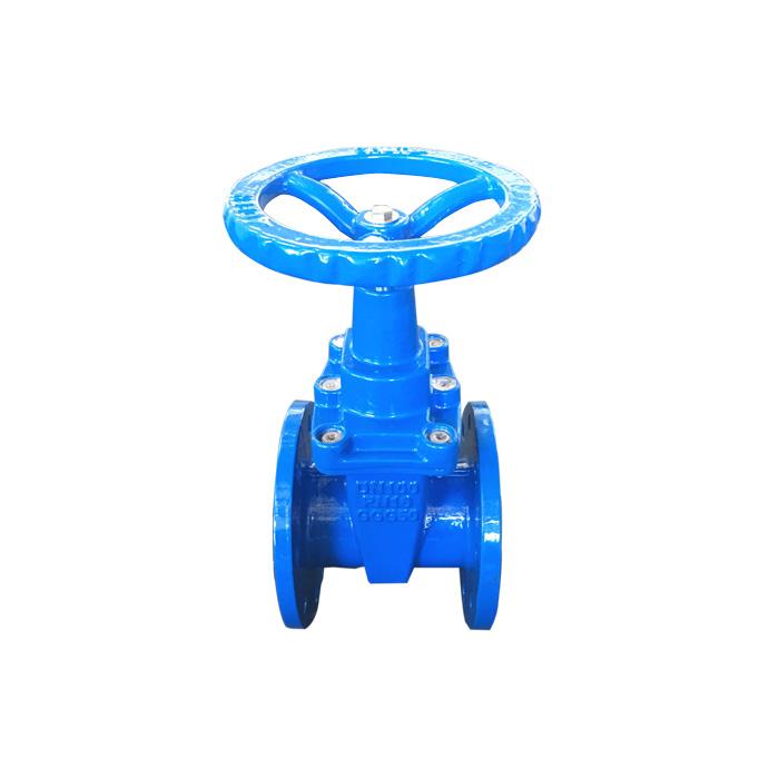 Z45X-10 / 16 DIN O-type F4 concealed gate valve