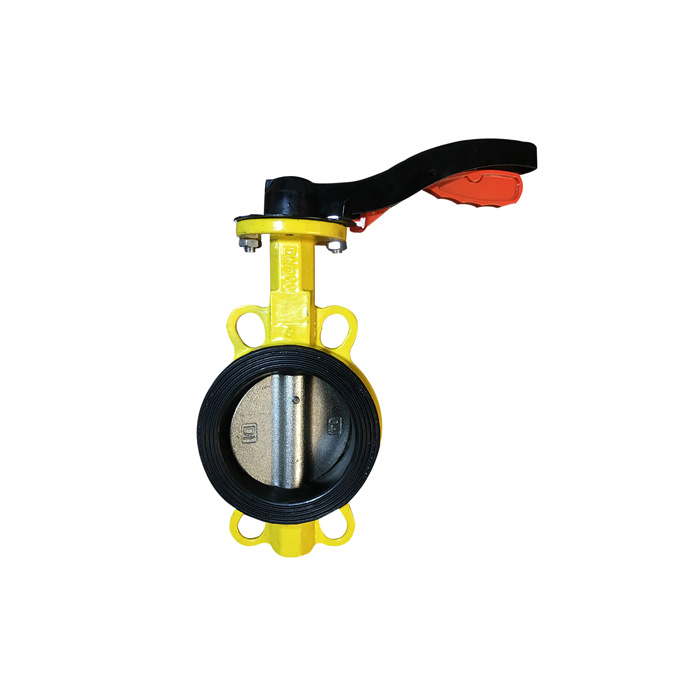 D71X-10 / 10Q / 16 / 16Q DIN wafer butterfly valve